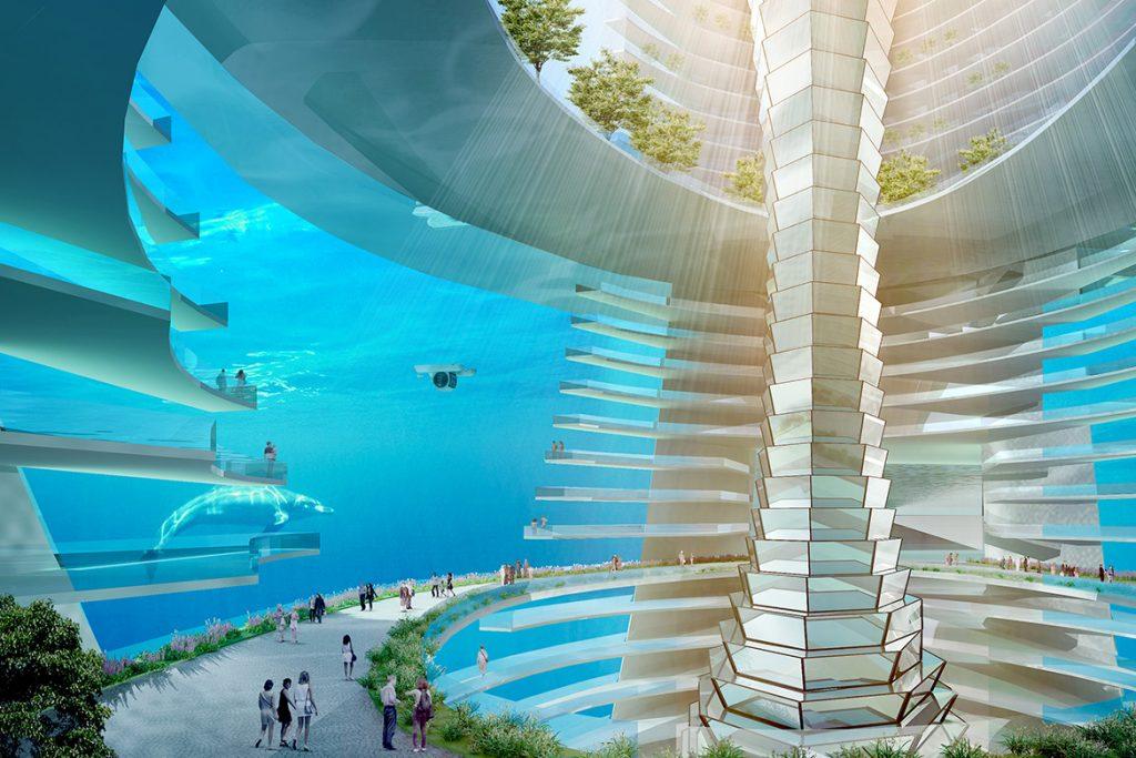 水中城节点景观