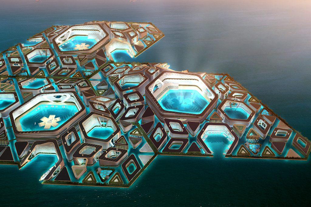 水中城鸟瞰3